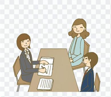 三重見面4(女,男生,母親)