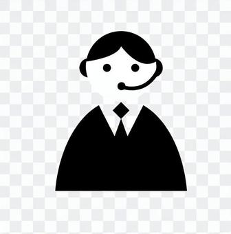 Pictogram (male operator)
