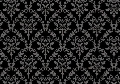 英國風格的壁紙黑色
