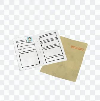 Envelopes and resume