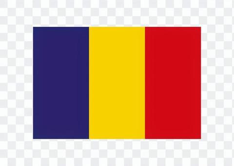乍得國旗圖