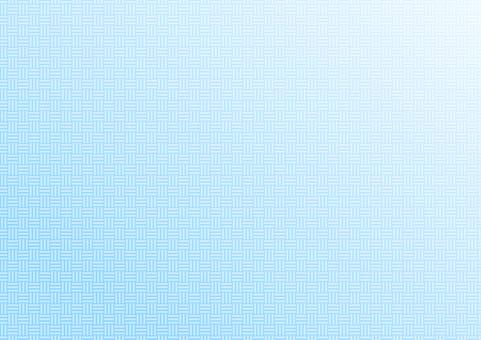 日本圖案背景 2 三折疊 計數桿折疊 淺藍色
