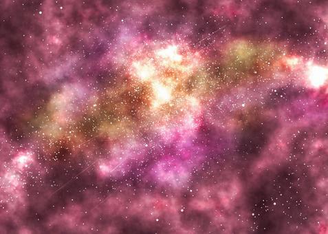 太空星空背景紅色