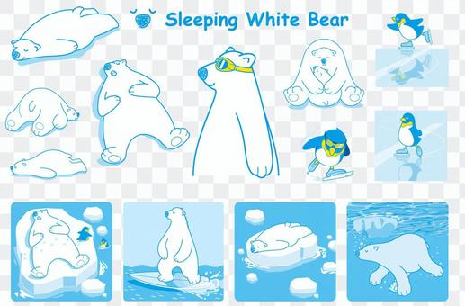 Shirokuma's illustration set
