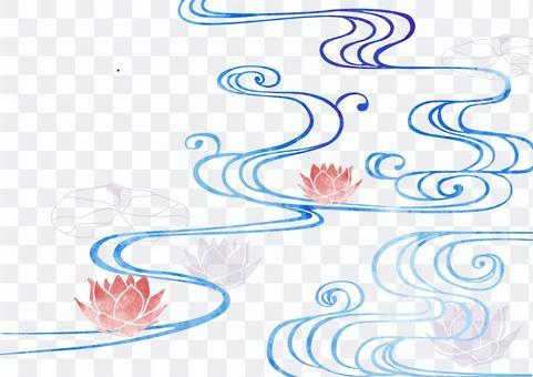 日式Kanze水背景素材20