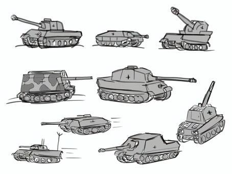 German tank suitable