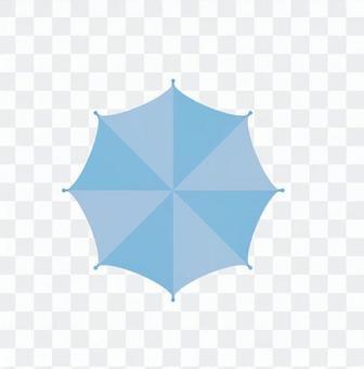 傘從上面看