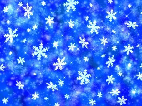 藍色壁紙雪晶體冬季