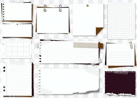 簡單的便箋簿設置3