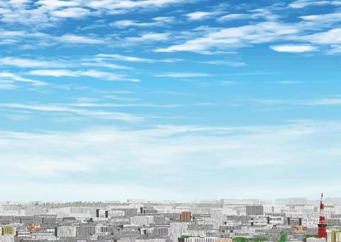 遙遠的市中心的看法