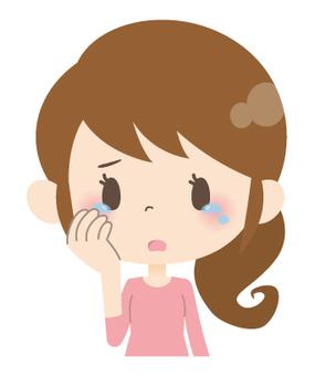 家庭主婦A *情緒_哭