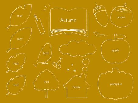 Pencil Touch Icon Frameset_Autumn WH