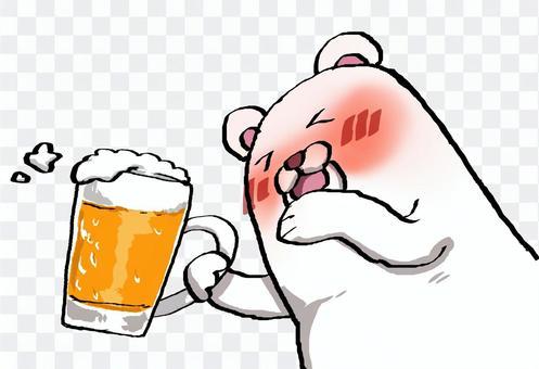 白熊和啤酒