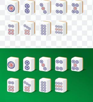 麻雀 パイ ギャンブル 趣味 ピンズ