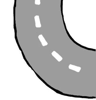 道路(曲線)