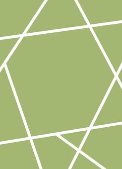 Bright green simple illustration