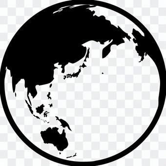 World map · icon