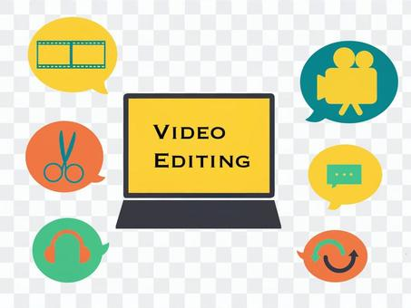 Image of video editing