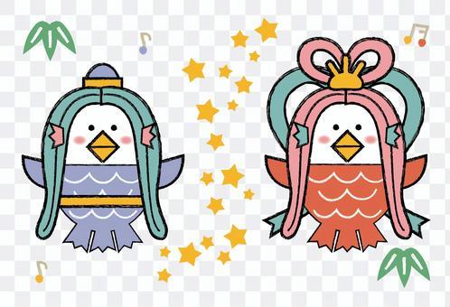 Amabie 七夕織姬和彥星