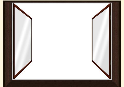 雙層玻璃窗