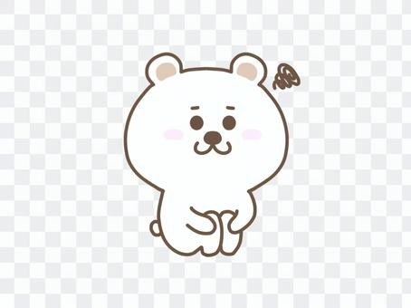 玩北極熊/體操坐