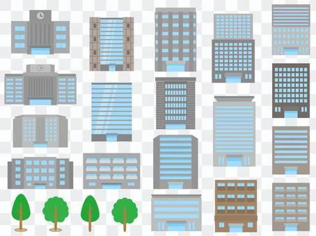 建築物建築物街樹木分類