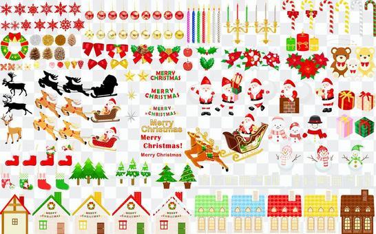 聖誕節圖標集