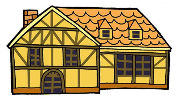 German-style house