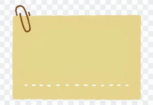 Zemclip和紙_手繪_棕色