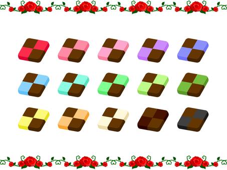 方格巧克力餅乾