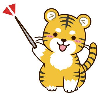 Tiger character to check