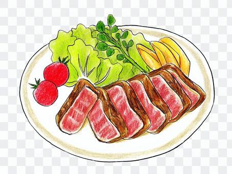 牛肉ミニステーキ