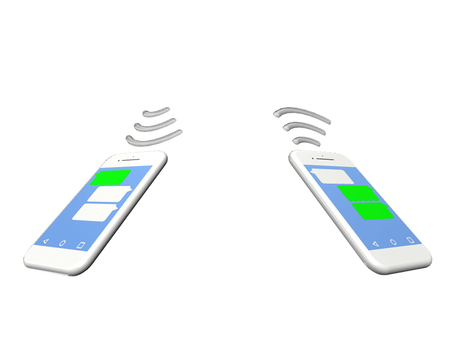 Smartphone android communication