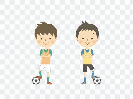 足球男孩組合