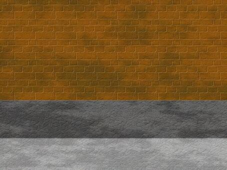 Wall and road background