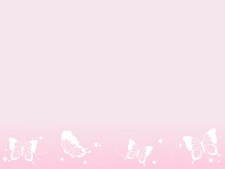 蝴蝶裝飾框架3