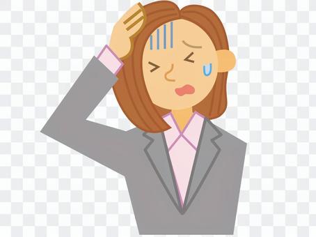 ビジネス_女性_失敗