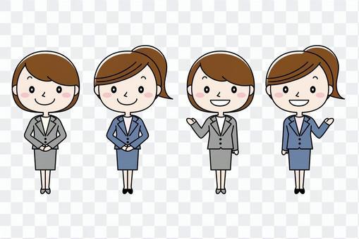 Suit women set 01