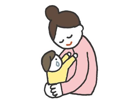 Hugging (color)