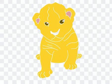 令人印象深刻的小獅子