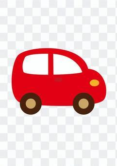 微型車(紅)