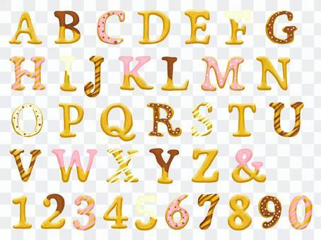 字母表餅乾