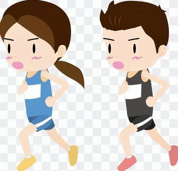 马拉松01(男女)