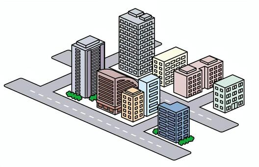 Street Material: Building