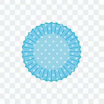 矽杯(圓點,藍)