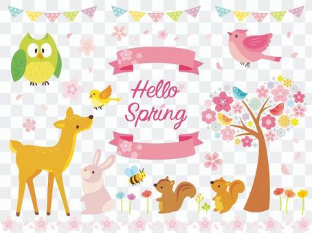 春天的插图集(3)