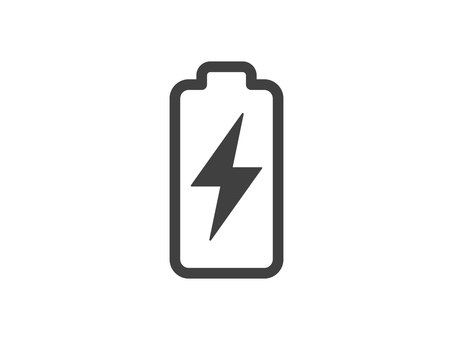 Charging icon Vertical ver.