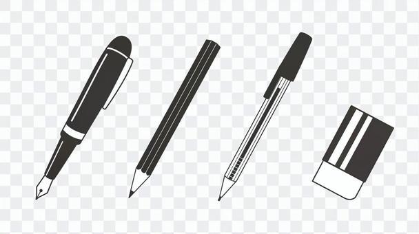 Writing utensil (monochrome)