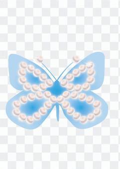 蝴蝶(藍)