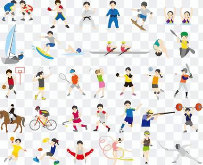 オリンピック競技種目